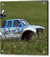 Crashed And Total Acrylic Print