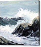 Crashing Sea Acrylic Print