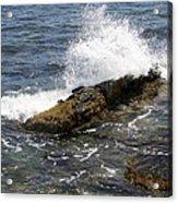 Crashing Waves - Rhode Island Acrylic Print