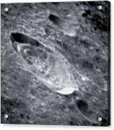 Crater Einthoven Acrylic Print