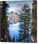 Crater Lake 1 Acrylic Print