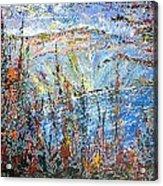 Crater Lake - 1997 Acrylic Print