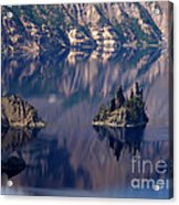 Crater Lake 2 Acrylic Print