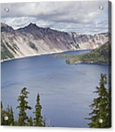 Crater Lake Or 10 Acrylic Print