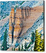 Crater Lake Pumice Castle Acrylic Print