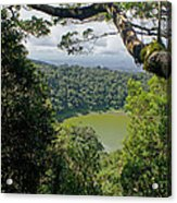 craterlake in Montagne d'Ambre National Park Madagascar Acrylic Print
