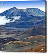 Craters And Cones Acrylic Print