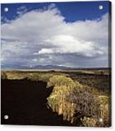 Craters Of The Moon Rainbow Acrylic Print