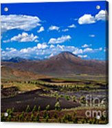 Craters Of The Moon Acrylic Print by Robert Bales