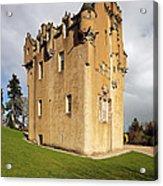 Crathes Castle Acrylic Print