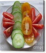 Craving For Fresh Vegetables Acrylic Print