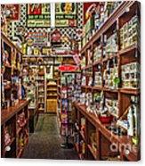 Crawley General Store Acrylic Print