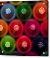 Crayon Tips 1 A Acrylic Print