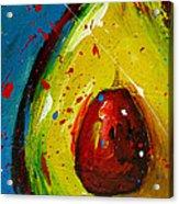 Crazy Avocado 4 - Modern Art Acrylic Print