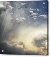 Crazy Clouds Acrylic Print
