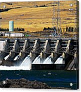 The Dalles Dam Acrylic Print