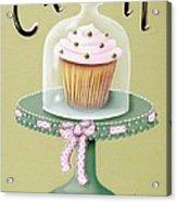 Creamy Cupcake Acrylic Print