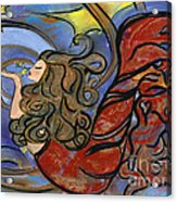 Creating Inspiration - Mermaid Acrylic Print