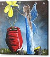 Creating Tomorrow Fairy By Shawna Erback Acrylic Print