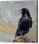 Creation - A Raven Acrylic Print