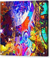 Creation Of Stars Acrylic Print