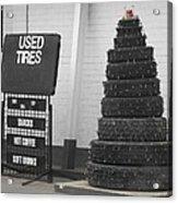 Creative Christmas Tree Acrylic Print