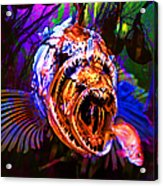 Creatures Of The Deep - Fear No Fish 5d24799 Acrylic Print by Wingsdomain Art and Photography