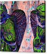 Creche Angels 7 Acrylic Print