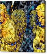 Creche Angels 8 Acrylic Print
