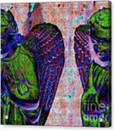 Creche Angels 9 Acrylic Print