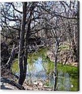 Creek In North Texas Acrylic Print