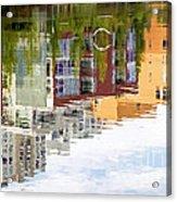 Creekside Reflections Acrylic Print