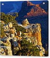 Creeping Morning Canyon Light Acrylic Print