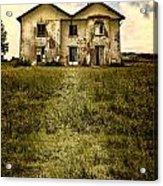 Creepy Derelict House Acrylic Print