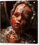 Creepy - Doll - It's Best To Let Them Sleep  Acrylic Print