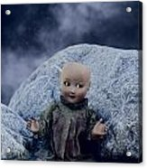 Creepy Doll Acrylic Print