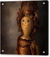 Creepy - Doll - Matilda Acrylic Print by Mike Savad