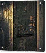 Creepy Door Acrylic Print