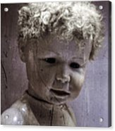 Creepy Old Doll Acrylic Print