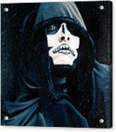 Creepy Skeleton Acrylic Print