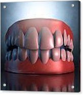 Creepy Teeth  Acrylic Print