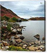 Cregennan Lakes Acrylic Print