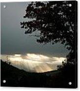 Crepuscular Light  Acrylic Print