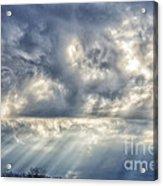 Crepuscular Rays Acrylic Print by Thomas R Fletcher