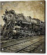 Crescent Limited Locomotive Of 1927 Acrylic Print