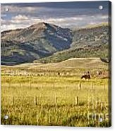 Crested Butte Ranch Acrylic Print