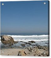 Crestwaves On A California Beach Acrylic Print