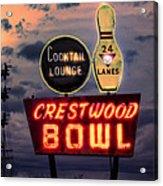 Crestwood Bowl Restored Acrylic Print
