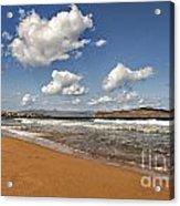 Cretan Beach Acrylic Print