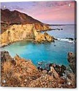 Cretan Coastline. Acrylic Print